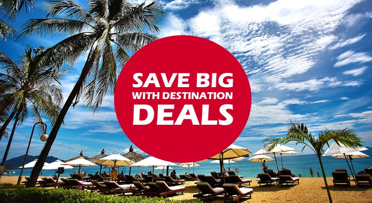 holiday destination deals