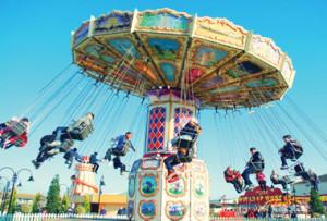 Fairground at Bognor Regis Butlins