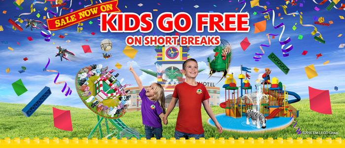 Legoland kids go free on short breaks