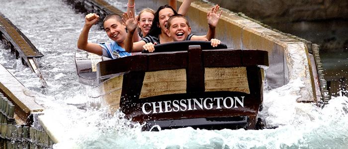 chessington Resort Splash Rides
