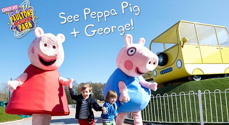 peppa pig world discounts