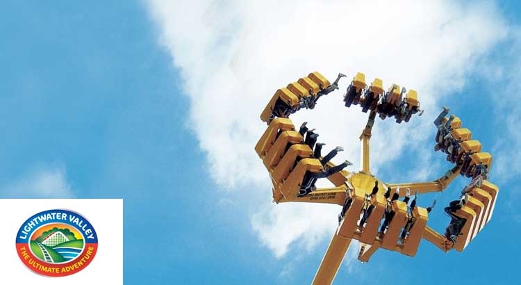 Lightwater Valley Theme Park Tickets only £6.75 per person during February Half Term