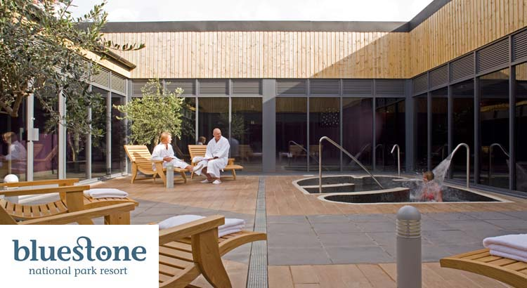 Bluestone spa offers 95 per couple uk family break for Luxury spa weekends for couples