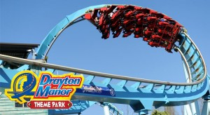 Save 28% off Ticket Price at Drayton Manor Theme Park