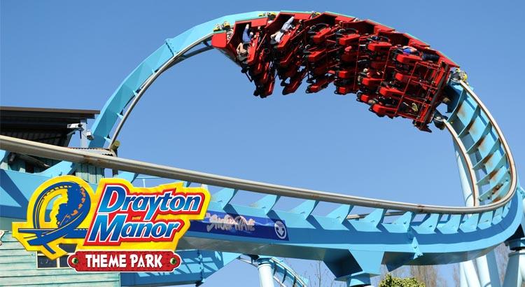 Drayton Manor Theme Park Save 36% off Ticket Price