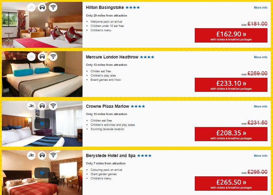 legoland may bank holiday prices