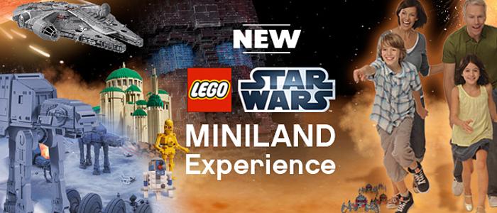 Legoland Stars Wars Miniland Experience