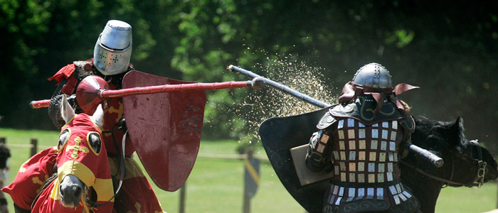Warwick Castle Short Breaks includes medieval entertainment