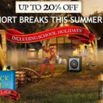Warwick Castle Breaks – Save 20% Off Summer Dates for a limited time only