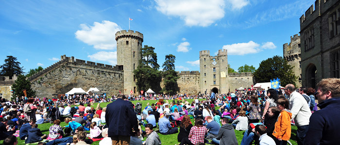 Warwick Castle is truly a unique short break destination.