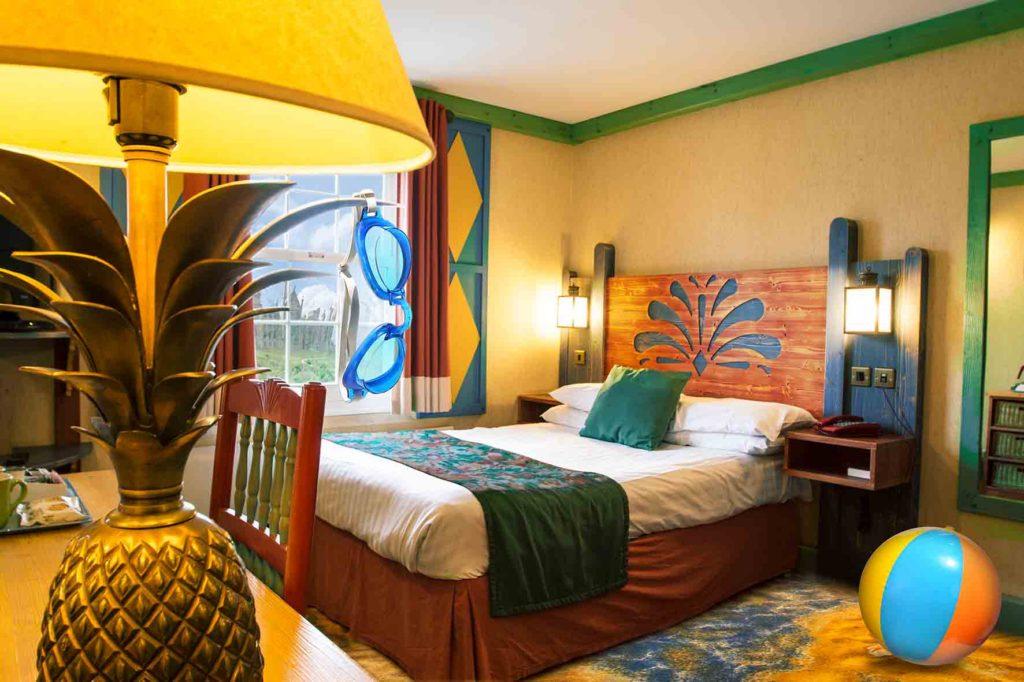Splash Landings Hotel themed room