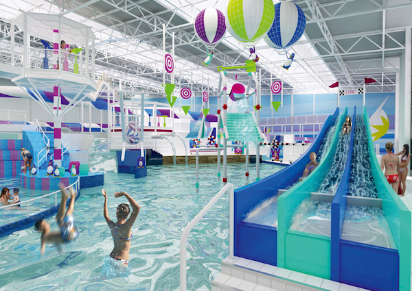 Heated indoor pools ( perfect to keep the kids happy on rainy days)