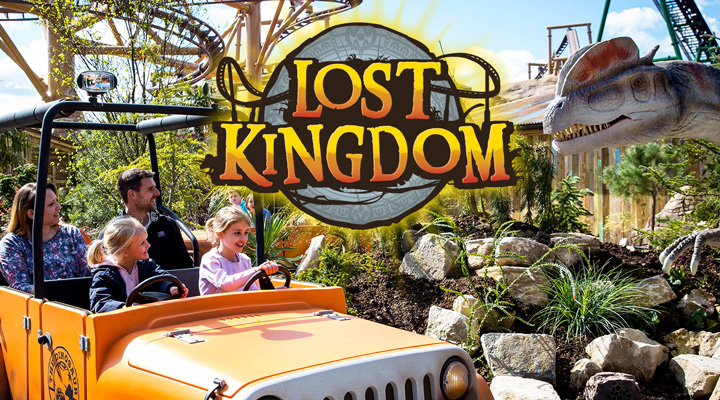 Explore the new Lost Kingdom at Paultons Park