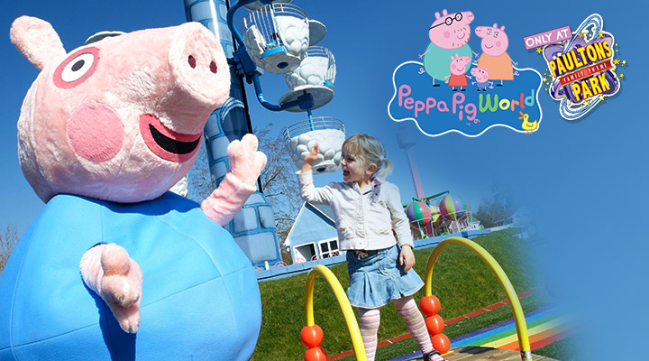 Peppa Pig World - See Peppa Pig and George
