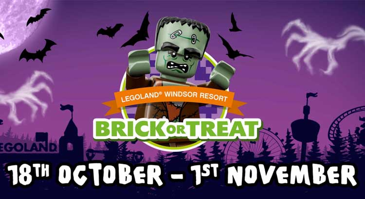 Legoland Brick or Treat Short Break with Free Tickets - Save £86