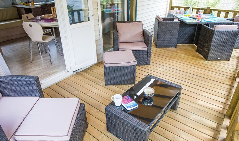 There's plenty of space for everyone in their mobile holiday accommodation