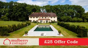 Mulberry Cottages £25 Voucher Code off 2 and 3 Night Breaks