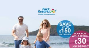 Park Resorts Save Up To £150 On 7 Night Breaks in 2017