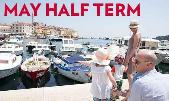 Save 25% Off May Half Term Holidays