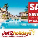 Jet2 Holidays Save £400pp on 2017 Summer Holidays