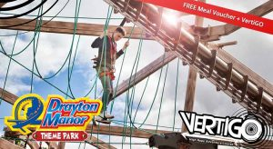 Drayton Manor Tickets & Meal Deal Offer Save 41% Off