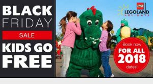 Legoland Black Friday Deals - Kids go FREE on all Breaks