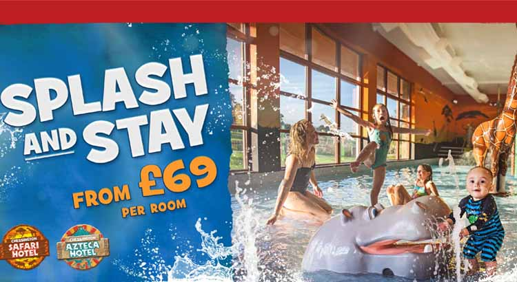 Splash and Stay Toddler Breaks at Chessington Resort from only £69