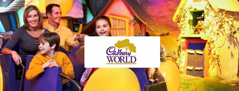 cadbury world offers