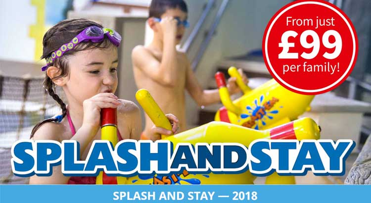 Legoland Splash and Stay Breaks from £99 per Family