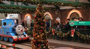 Drayton Manor Magical Christmas Tickets and Hotel Break from £109
