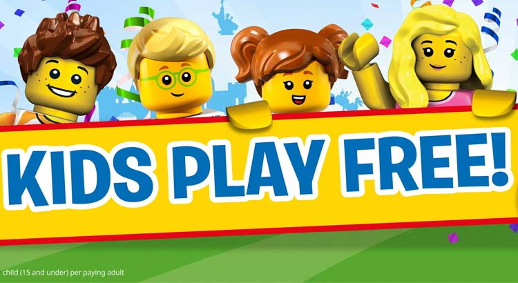 Kids Play FREE with LEGOLAND Holidays from £33pp - plus 2nd day FREE incl. hotel & breakfast