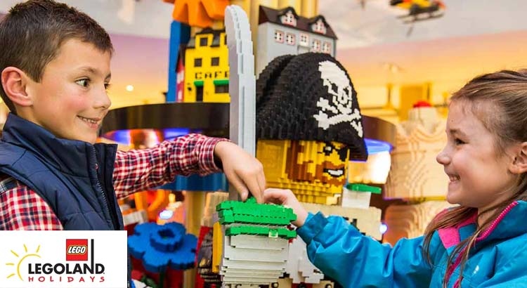 Exclusive 10% off all Junior Builder Week breaks at the LEGOLAND® Windsor Resort