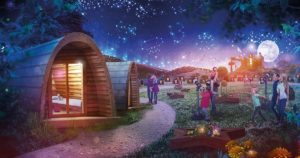 Alton Towers Star Gazing Pod breaks breaks from £148 per couple